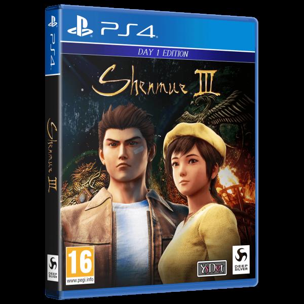SHENMUE III DEEP SILVER EXCLUSIVE BUNDLE 2