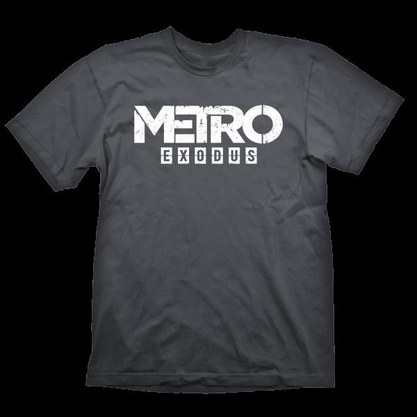 METRO EXODUS T-SHIRT LOGO GREY