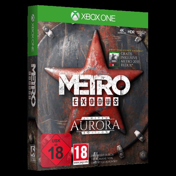 METRO EXODUS AURORA EDITION XBOX ONE