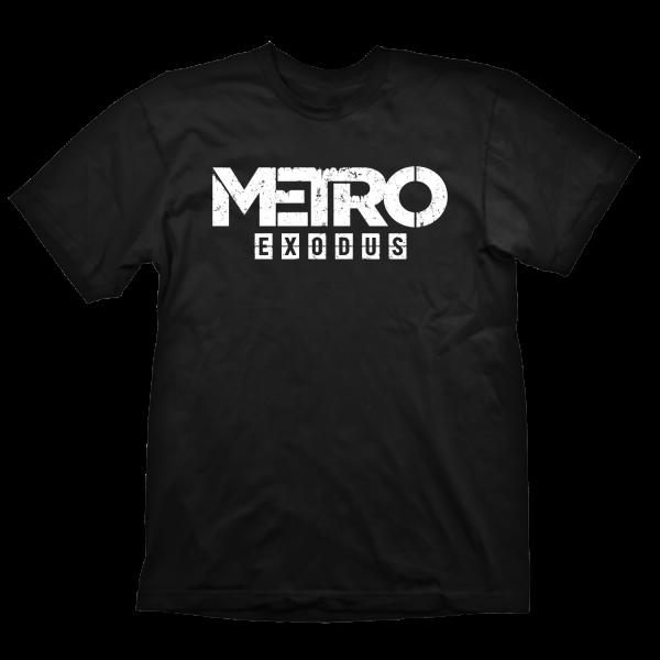 METRO EXODUS T-SHIRT LOGO BLACK
