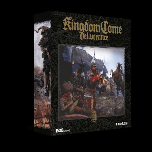 KINGDOM COME DELIVERANCE PUZZLE 1 - VILLAGE RAID